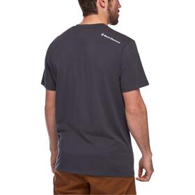 Black Diamond Idea Bluzka z krótkim rękawem Mężczyźni, carbon